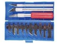 Třinácti dílná modelářská sada nožů Velleman