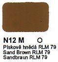 N12 M Pískově hnědá RLM 79 Agama