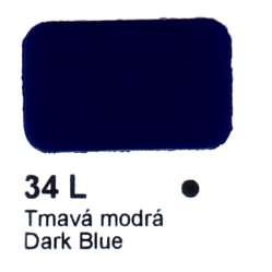 34 L Tmavá modrá Agama