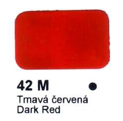 42 M Tmavá červená Agama