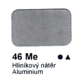 46 Me Hliníkový nátěr Agama