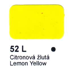 52 L Citronová žlutá Agama