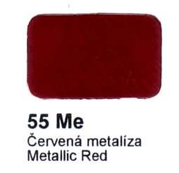 55 Me červená metalíza Agama