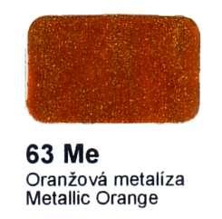 63 Me Oranžová metalíza Agama