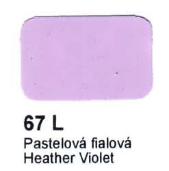 67 L Pastelová fialová Agama