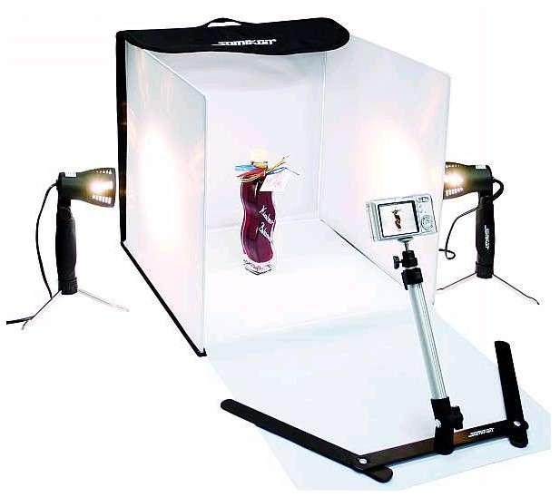 Mini Foto studio pro tvorbu profesionálních fotografií