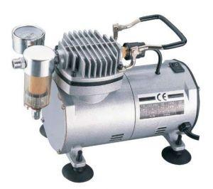Mini (Airbrush) kompresor AS 18 -(1) + hadice BD-24 3m