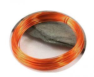 Barevný drát 0,3mm/5m oranžový