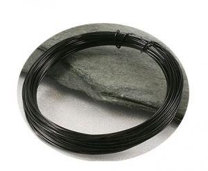 Černý drát 0,3mm/5m