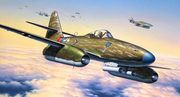 Messerschmitt Me 262 A-la Revell