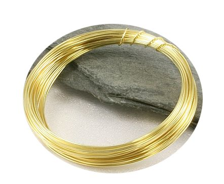 Zlatý drát 0,3mm/5m
