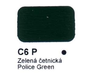 C6 P Zelená četnická Agama