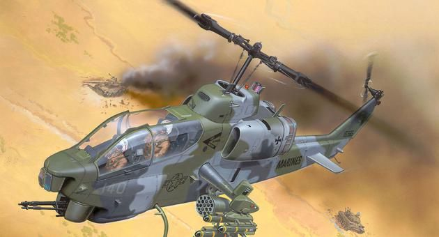 AH-1W Super Cobra Revell