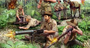ANZAC Infantery WWII