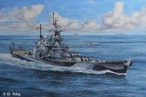 Battleship U.S.S. Missouri (WWII)