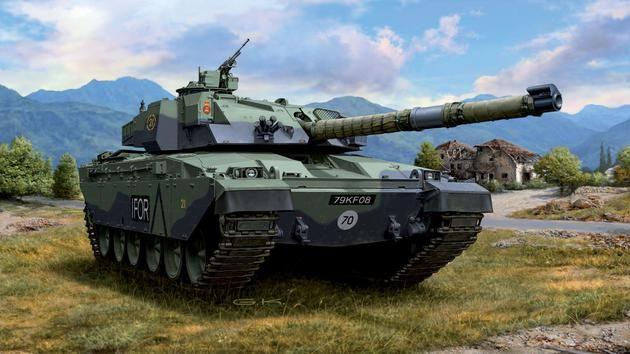 British Main Battle Tank CHALLENGER I Revell