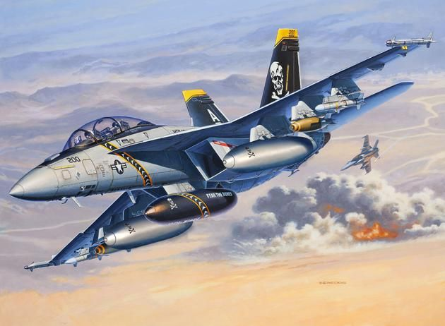 F/A-18F SUPER HORNET twin seater Revell