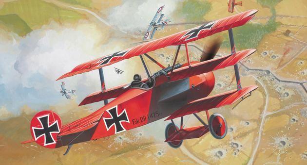 Fokker DR. 1 Triplane Revell