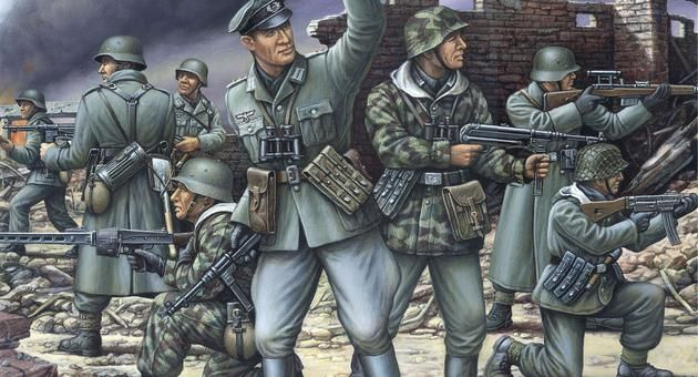 German Armoured Infantry Revell