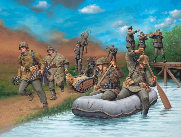 German Engineers WW II Revell
