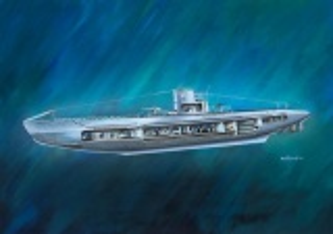 German Submarine U-47 with Interior