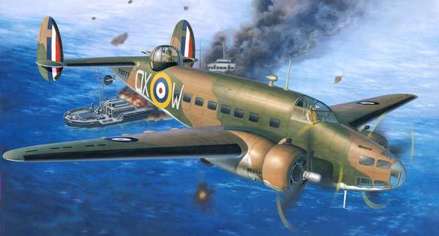 Hudson Mk. I/II Patrol Bomber Revell