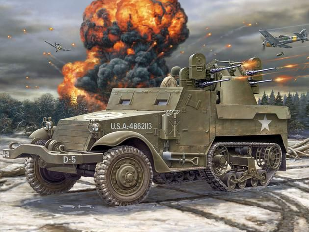 M16 Halftrack Revell