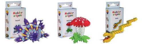 modulární origami Agama