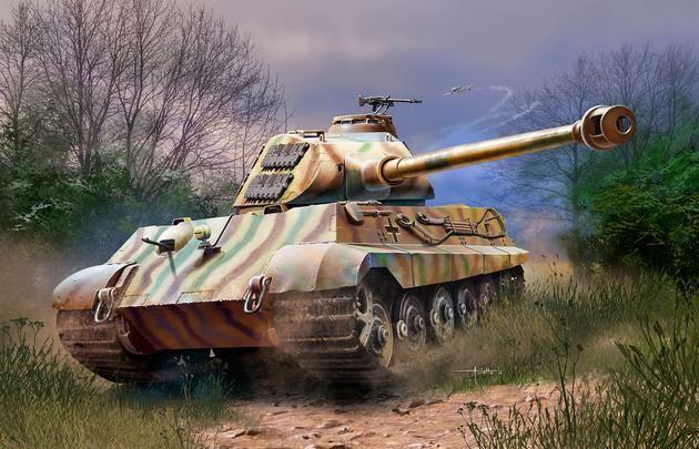 Tiger II Ausf. B (Porsche Prototype Turret) Revell