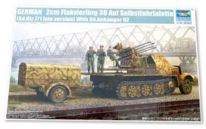 2cm Flakvierling 38 Auf Selbstfahrlafette - Late version