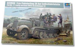 2cm Flakvierling 38 Auf Selbstfahrlafette - Erly version