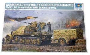 3.7cm Flak 37 Ausf Selbstfahrlafette - late version