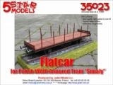 Flatcar for Armored Train (The Brave)