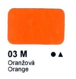 03 M Oranžová Agama