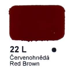 22 L Červenohnědá Agama