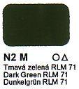 N2 M Tmavá zelená RLM 71 Agama