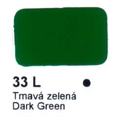 33 L Tmavá zelená Agama
