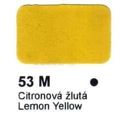 53 M Citronová žlutá Agama