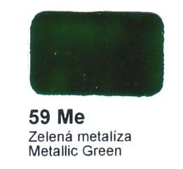 59 Me Zelená metalíza Agama