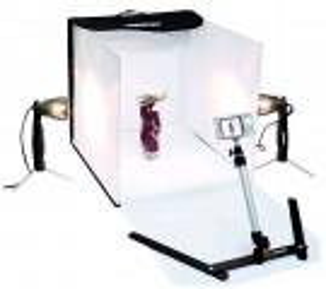 Foto studio osvětlovací a upínací sada 40x40x40