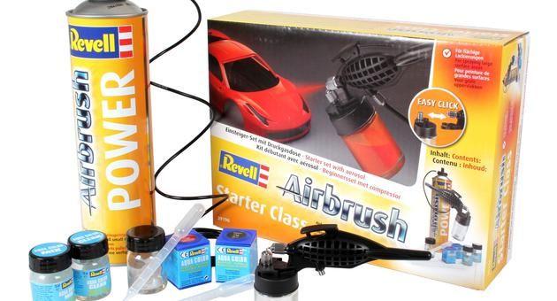 Airbrush - 39196 - komplet set - Starter Class Revell