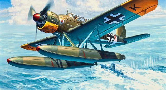 Arado 196 A-3 Seaplane Revell