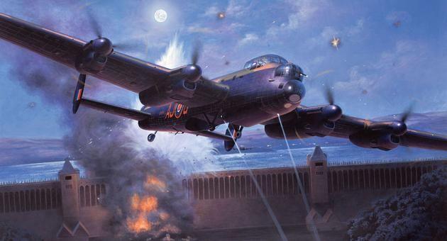 """Avro Lancaster """"DAMBUSTERS"""" Revell"""