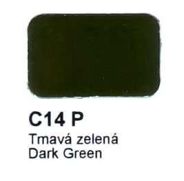 C14 P Tmavá zelená Agama