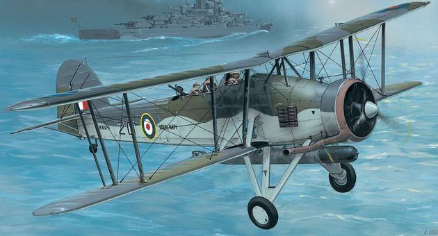 Fairey Swordfish Mk.I/III Revell