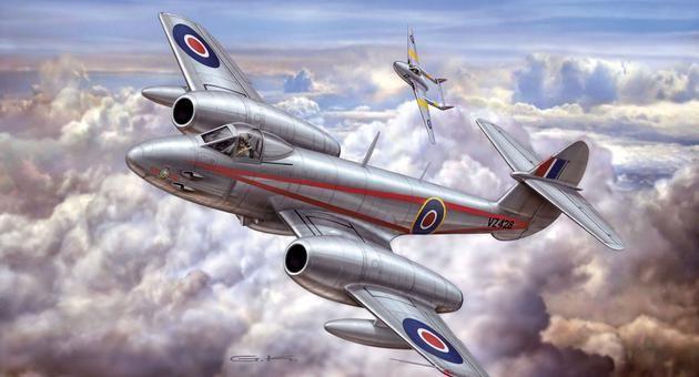 Gloster Meteor Mk.4 Revell