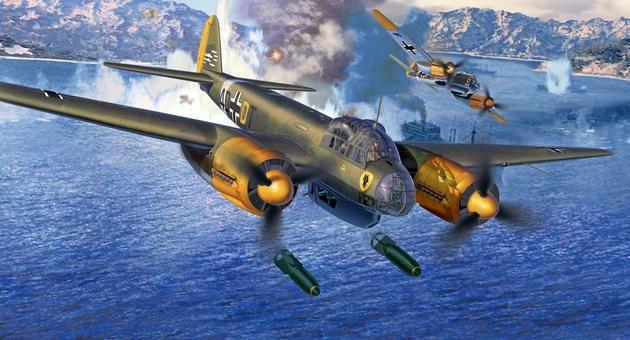"""Junkers Ju 88 A-4 """"Bomber"""" Revell"""