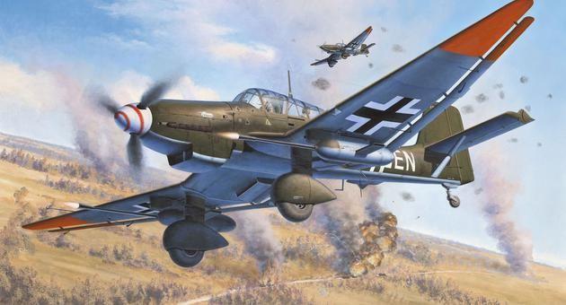 Junkers Ju87 G/D Tank Buster Revell