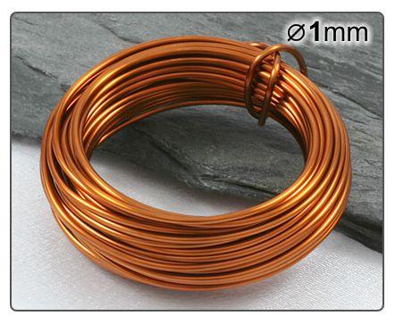 Měděný drát 1mm/5m