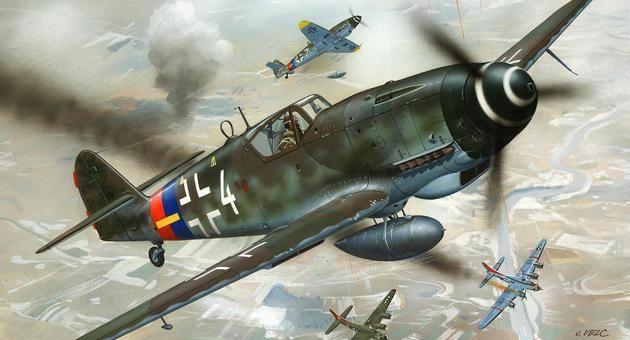 Messerschmitt Bf 109 G-10 Revell